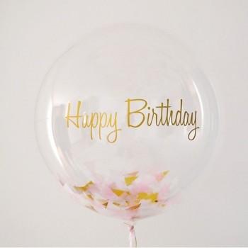 Happy Birthday Bubble & Κομφετί