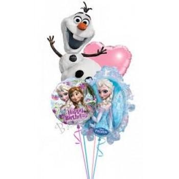 Μπουκέτο μπαλόνι Frozen