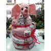 Diaper Cake 3 roof Girl +80,00€